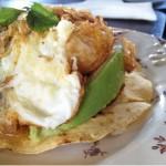 Huevos Mexico Lindo del brunch de Ocanya