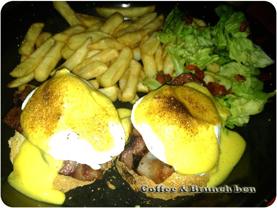 Dostrece - famoso brunch en Barcelona - Huevos benedict