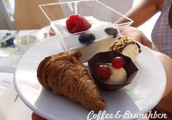 Brunch buffet libre internacional en El Clot–Baci d'Angelo-Postre