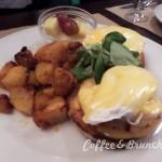 Huevos benedict con huevos ecologicos y English muffins-Benedict Barcelona eggs