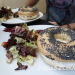 Cuando la carta del brunch no es de brunch…-Sano Cuina-Bagel con queso y salmon