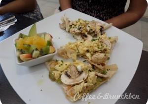 Cuando la carta del brunch no es de brunch…-Sano Cuina-Huevo revueltos