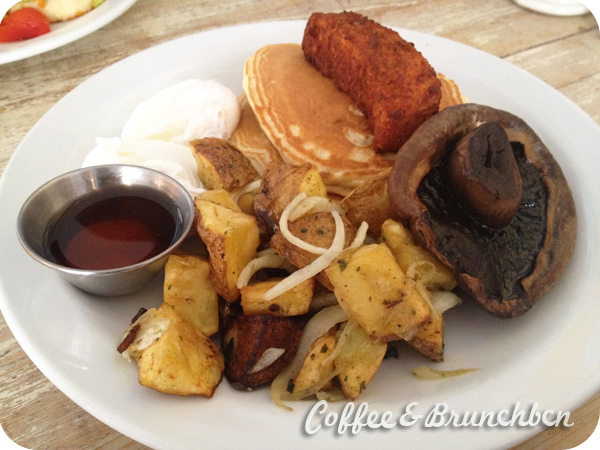 Brunch en Londres–The Breakfast Club-All american vegetariano
