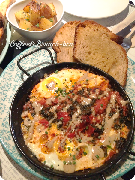 Brunch sin lactosa ni gluten-Copasetic-Kale eggs