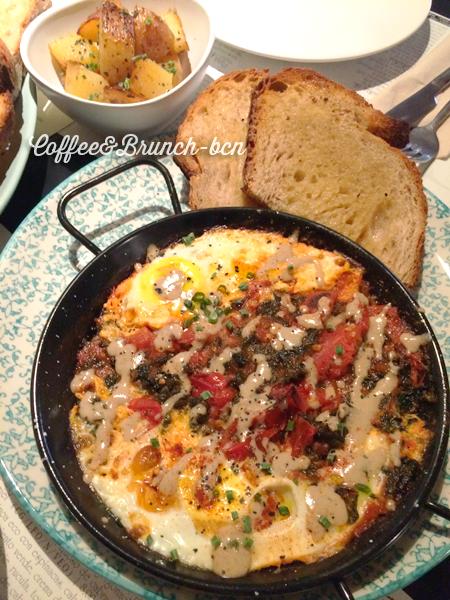 Brunch sin lactosa ni gluten-Copasetic-Kale eggs