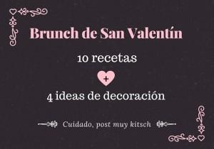 Recetas e ideas DIY para tu brunch de San Valentín
