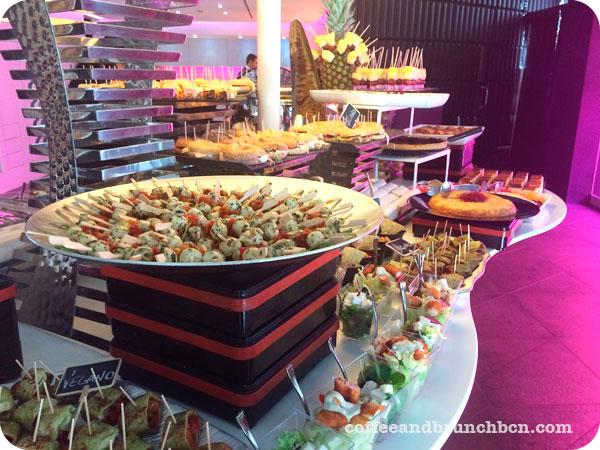 Hotel Barcelo-B-Lounge-Brunch bufe libre en el Raval-Salados