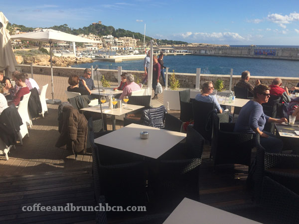 Brunch en Mallorca-Terraza con vista