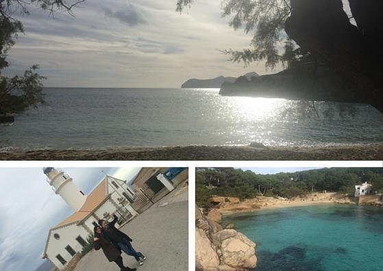 Cala Gat y faro de Capdepera-Mallorca