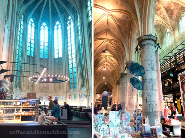 Iglesia-libreria-cafeteria en Maastricht