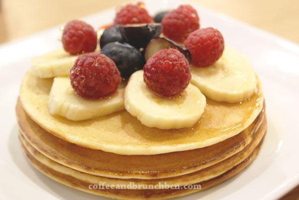 Pancakes en Kosmobar