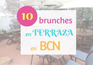 Brunch en terraza en Barcelona