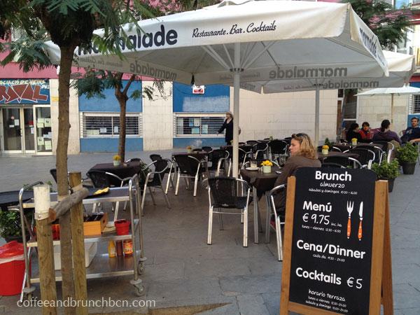 Brunch en terraza en Barcelona-Terraza-Marmalade