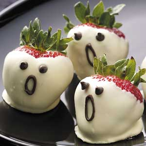 Recetas-halloween-brunch-saludable-fresas-fantasmas