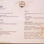 Menú de brunch de La Carioca - Barceloneta