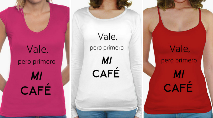 Camisetas mujer Coffee Lover
