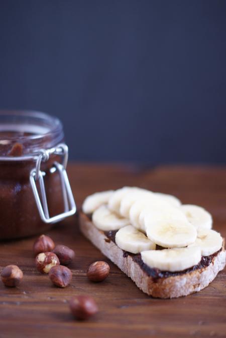 Nutella casera saludable - receta brunch saludable