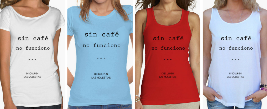 Regalos Coffee Lovers - Sin café no funciono