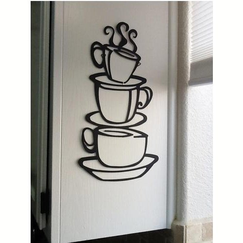 Vinilo decorativo tazas de café - Regalos para coffee lovers