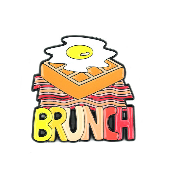 Broche beicon, gofre y huevo - Regalos brunch lovers