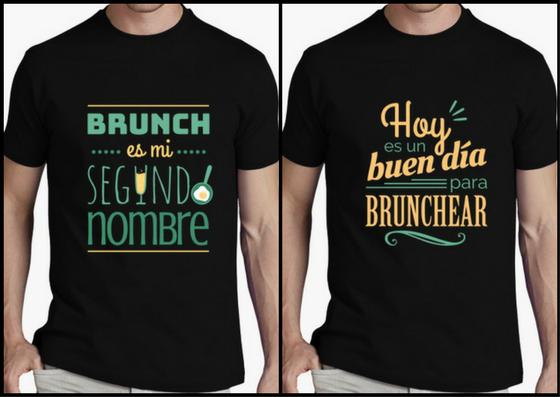 Camisetas hombre brunch lover