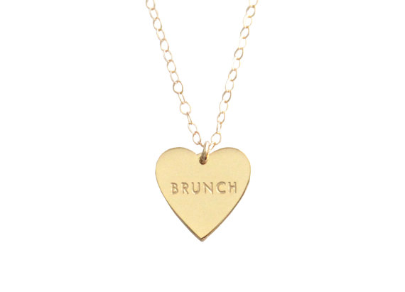 Collar amo el brunch - Regalos brunch lovers