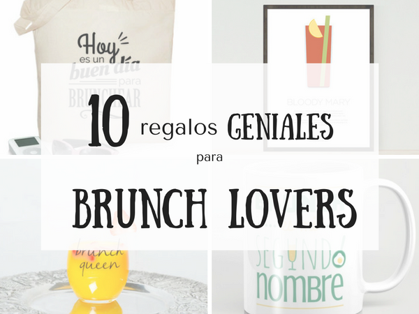 Regalos geniales para brunch lovers