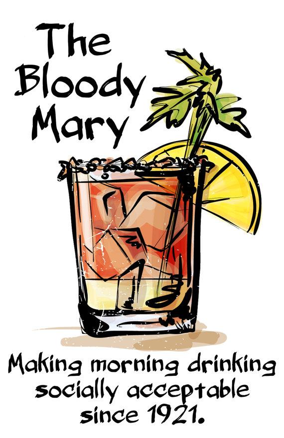 Paño cocina Bloody Mary - Regalos brunch lovers