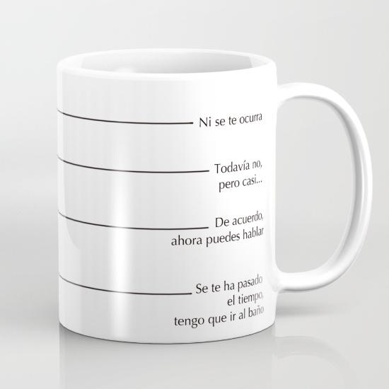 Tazas para regalar - No me hables antes de mi café
