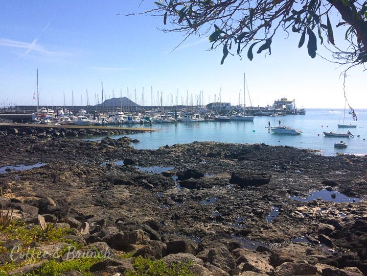 Brunch en Fuerteventura - Mezclando trabajo con placer - Puerto en Corralejo